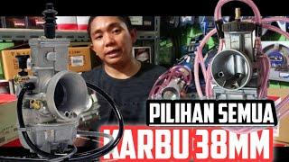 PILIHAN KARBU RACING 38MM - KARBU PWK38 PWM38 SPJ38 TMX38 LECTRON