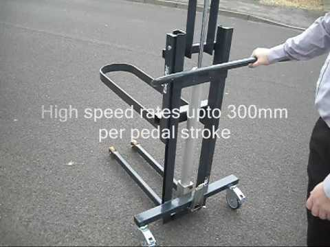 EasyLifter Foot Operated Hydraulic Manual Handling Lifter