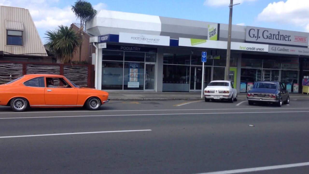 Mazda Rx2 Rx3 Taupo Nz Youtube