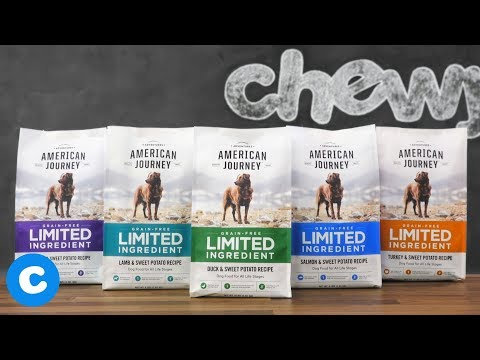 American Journey Limited Ingredient Diet Dog Food | 2018
