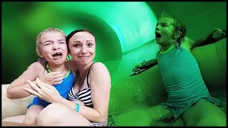 SHE'S NEVER RIDING THAT WATER SLIDE AGAIN! | Great Wolf Lodge