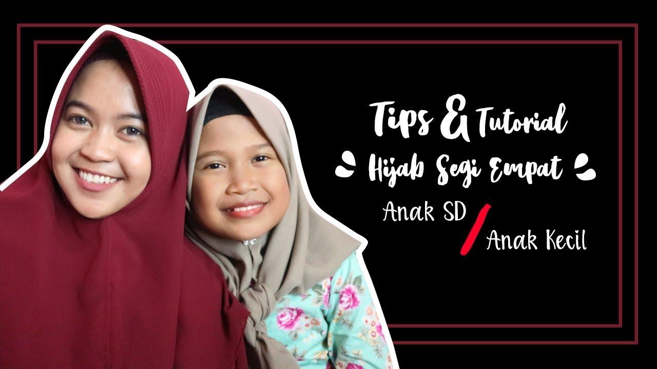 Tips Tutorial Jilbab Segi Empat Yang Aman Untuk Anak Kecil Simpel Dianretno Youtube