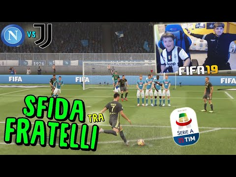 NAPOLI vs JUVENTUS - LA SFIDA DELLE SFIDE! - Fifa 19 thumbnail