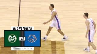 Colorado State vs. Boise State Basketball Highlights (2018-19) | Stadium