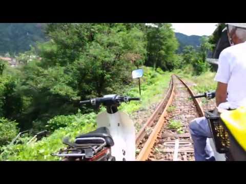 ガッタンゴー レールバイク
