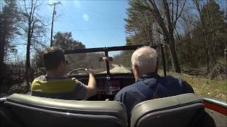 1950 Willys Jeepster Test Drive (GoPro HD)