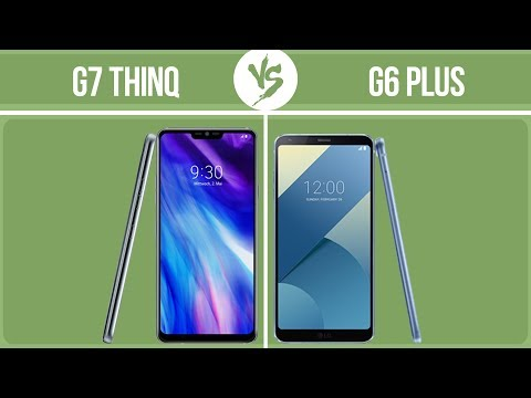 LG G7 ThinQ vs LG G6 Plus ✔️