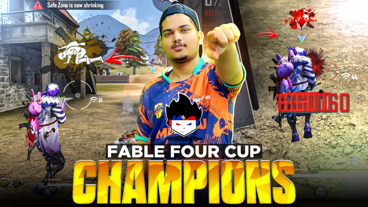 [Tournament Highlights] Fabled Four Cup Champions 17 Kills Booyah By Team TSG ARMY -Garena Freefire