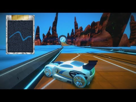 Reino Aquático - Hot Wheels AcceleRacers Video Game: Distance