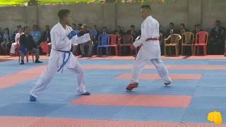 (Diwash shrestha vs Bhim Tamang)-84kg Final _8th National Games-karate