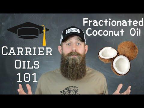 Carrier oils 101 Fractionated Coconut Oil