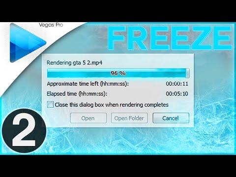 Sony Vegas Pro 12/13: How To Fix Render Freeze Part 2 (Render Problems Tutorial)