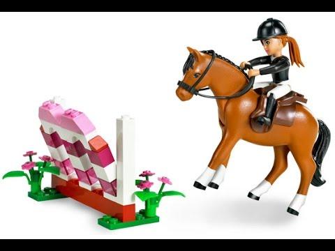 lego chevaux jouets pour les enfants