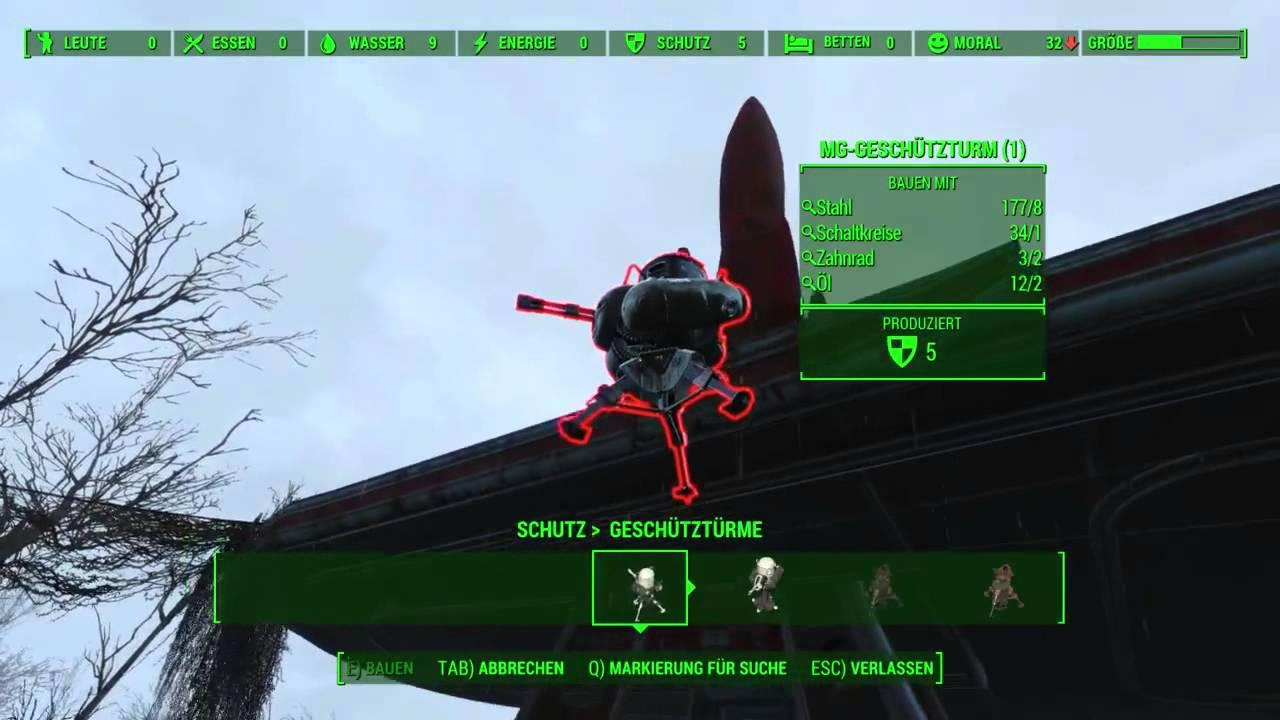 Fallout 4 Hundehütte Bauen