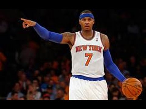 NBA TRADE RUMORS  NEW YORK KNICKS SWAPPING CARMELO ANTHONY