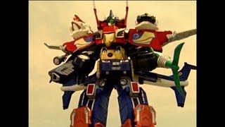 SkyRev Megazord First Fight | Power Rangers RPM