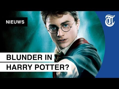 Harry Potter-fans woest om grote fout