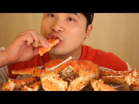 대왕 킹크랩 먹방~!! 리얼사운드 social eating Mukbang(Eating Show)