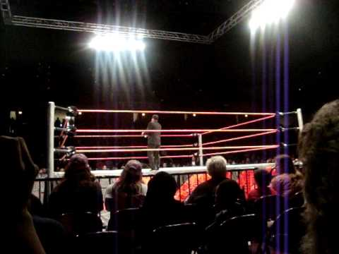 Tony Chimel in the ring!