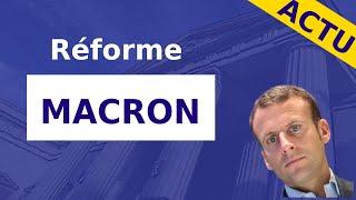 MACRON: LES 3 POINTS CLEFS DE LA RÉFORME DU TRAVAIL