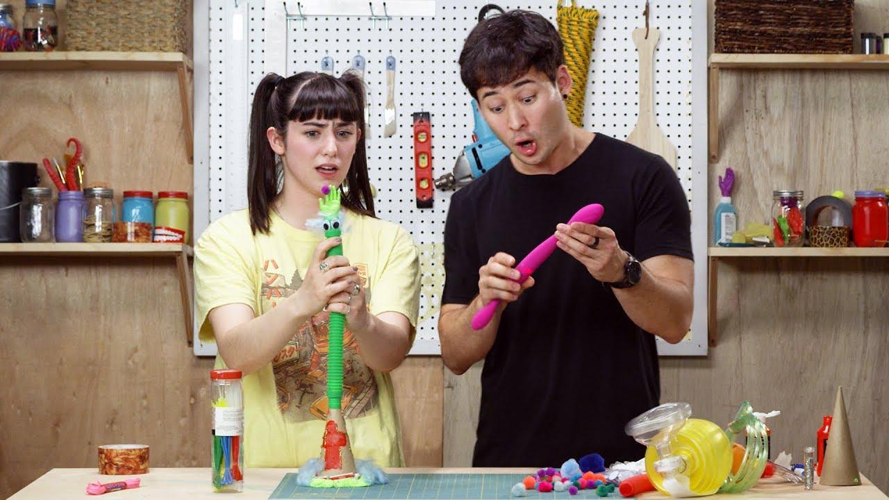 couple sex toy tube