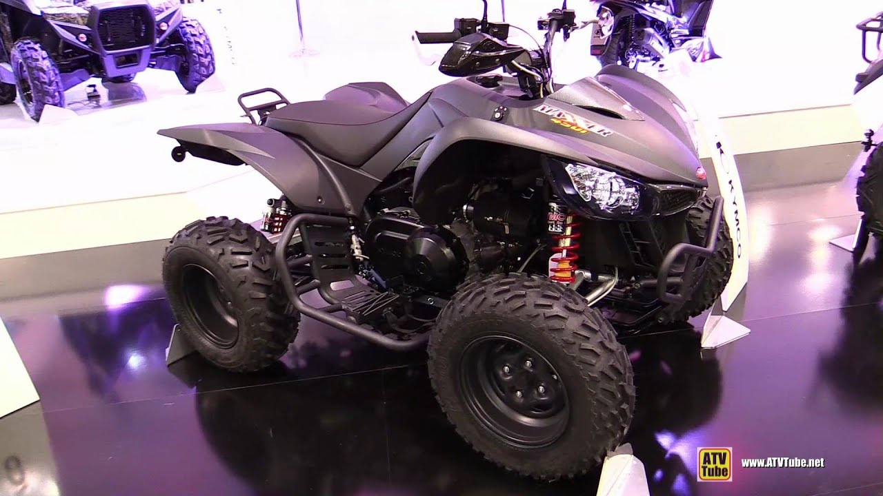2015 kymco maxxer 450i sport atv walkaround 2014 eicma. Black Bedroom Furniture Sets. Home Design Ideas