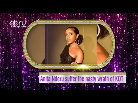 Anita Nderu Suffer The Nasty Wrath Of KOT For Supporting Homosexuality