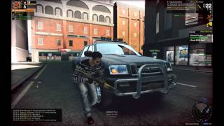 APB Reloaded Gameplay with VBR Huntress / Cap40 / silencer FBW HD + New Intro