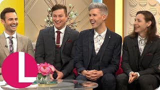 Collabro Discuss Their Friendship With Sir Cliff Richard and Reveal He&#39s a Big Fan  Lorraine