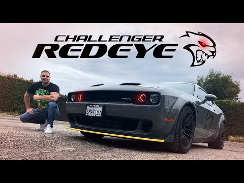 2020 Dodge Challenger Hellcat Redeye Widebody Review 0-60 in 2.5 secs