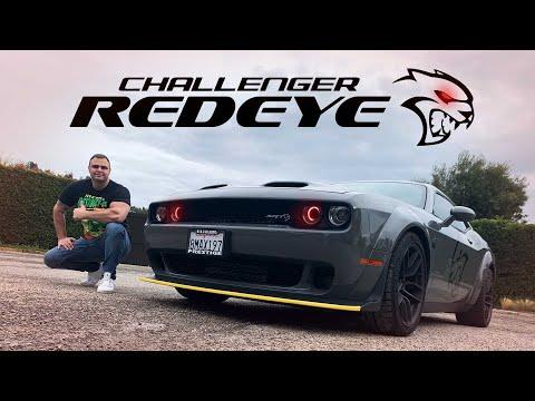 2020 Dodge Challenger Hellcat Redeye Widebody Review 0-60 in 2.5 secs