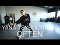 The Weeknd - Often (Kygo Remix) | Choreography by Yana Tsybulʹskaya | D.Side Dance Studio