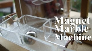 This is my second marble machine, it's a complete original design. ...