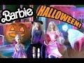 Барби все серии подряд Halloween (1 - 4 серии), в доме мечты Barbie завелось привидение