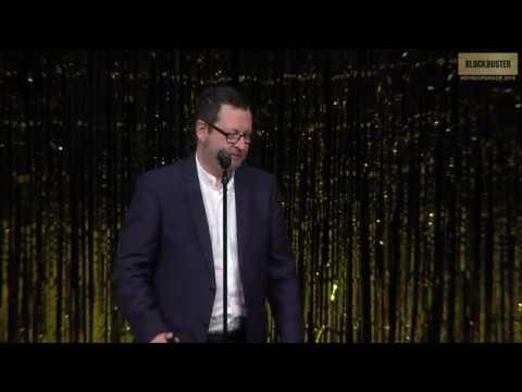 Lars Von Trier receiving award - Best Director