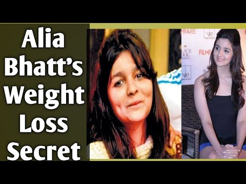 Alia Bhatt's Weight Loss Secret | With Her Diet Plan To Lose 16 Kgs In 3 Months
