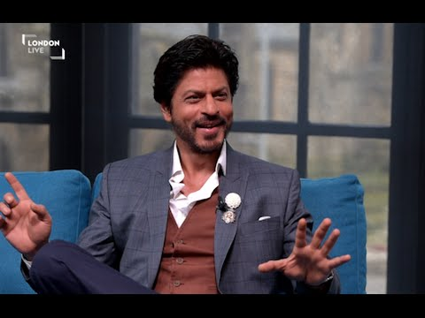 Shah Rukh Khan Teaches Our Presenter How To Dance | London Live