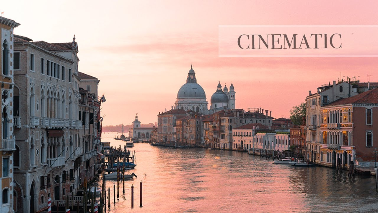 DJI OSMO ACTION CINEMATIC FOOTAGE -  ITALY