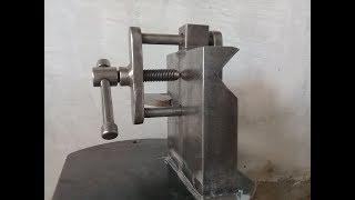 Cortadora de tubos  (boca de pez) primera parte./pipe cutter.
