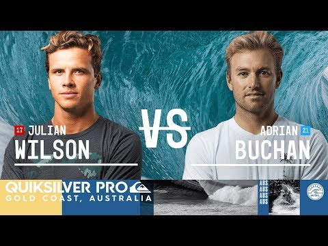 Julian Wilson vs. Adrian Buchan - FINAL - Quiksilver Pro Gold Coast 2018