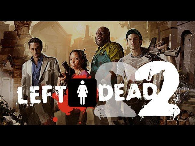 Left 4 Dead 2 : Jogando com a minha namorada