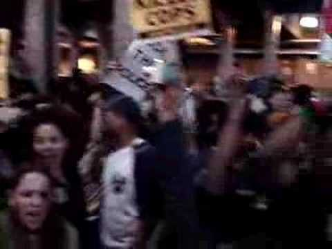 Rally after verdict that acquitted cops who killed Sean Bell