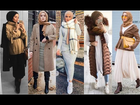 [VIDEO] - Hijab Winter  اجمل موديلات المحجبات لشتاء 20192020  Early Autumn Hijab Lookbook 1