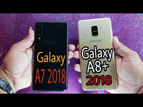 Samsung Galaxy A7 (2018) vs Galaxy A8 Plus (2018) Speed Test