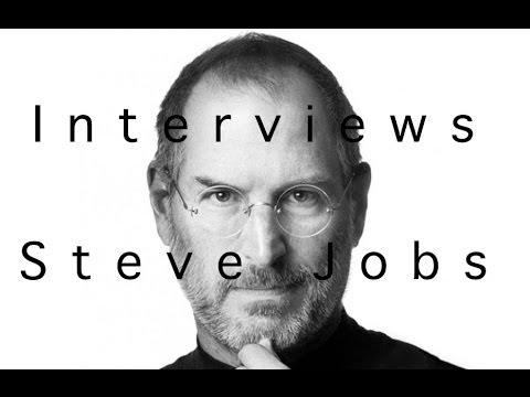 Deux interviews de Steve Jobs en Suisse et en France!
