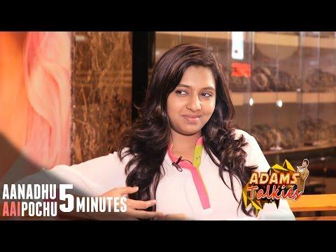 Aanadhu Aagipochu 5 Minutes with Lakshmi Menon | VJ Adams