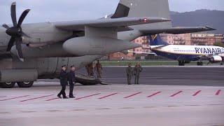 Roma, i militari feriti in Iraq rientrano in Italia: l'arrivo a Ciampino