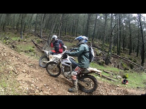 Andalucia, Spain - Trail Riding on AJP PR5 Motorcycles
