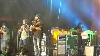Zac Brown Band - All Apologies - Nirvana Cover - Live @ Deluna Festival 9-23-2012