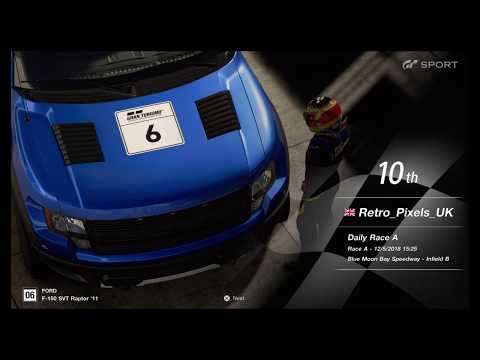 Gran Turismo™SPORT Daily Race A 12th May 2018 Blue Moon Bay Infield B F150 Raptor SVT